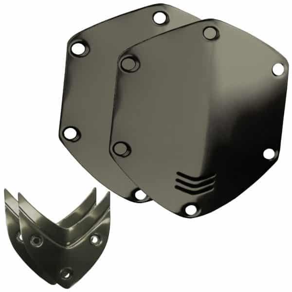 V Moda Gunmetal Black Shield