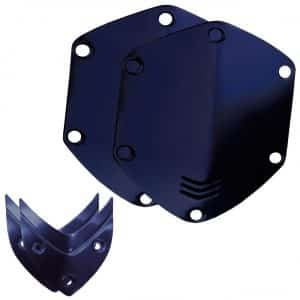 V Moda Matte Blue Shield