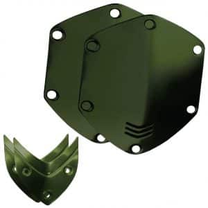 V Moda Matte Green Shield