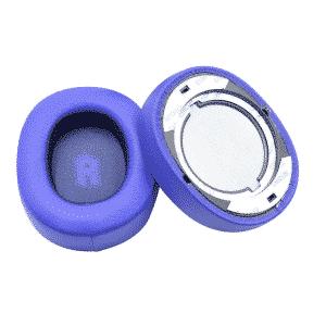 Back Side of JBL E55BT Blue Ear Pads