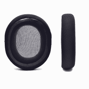 SteelSeries Arctis 7 Black Ear Pads Back View