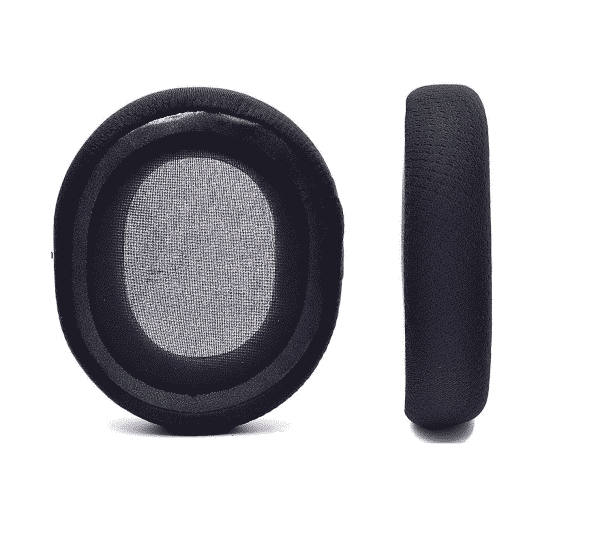 SteelSeries Arctis 7 Black Ear Pads Back View