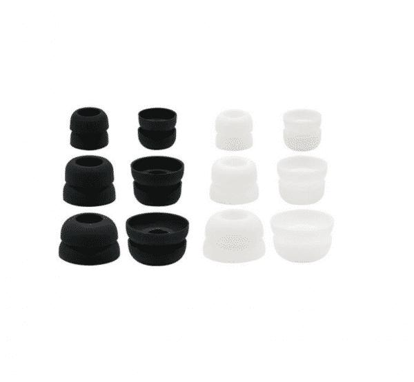 V-Moda Forza White and Black Earbud Tips