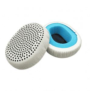 White Skullcandy Riff Wireless Ear Pads