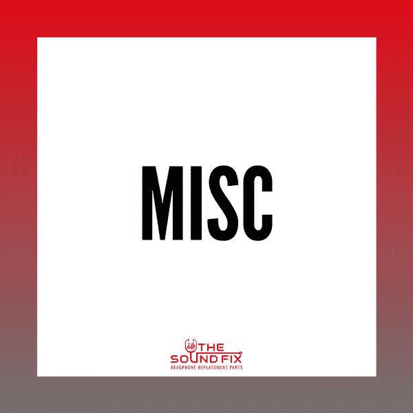 Misc Headphone Parts