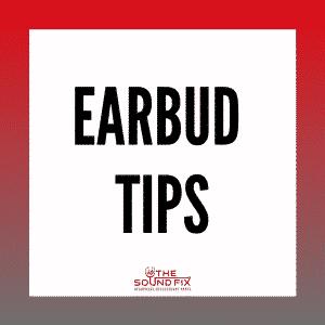 Replacement Earphone Earbud Tips